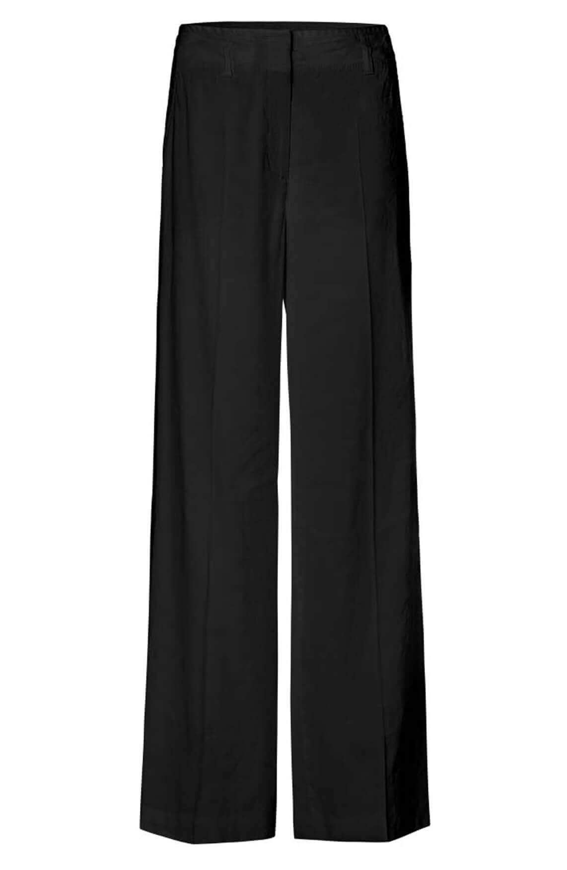 Marccain Dames Pantalon met linnen zwart
