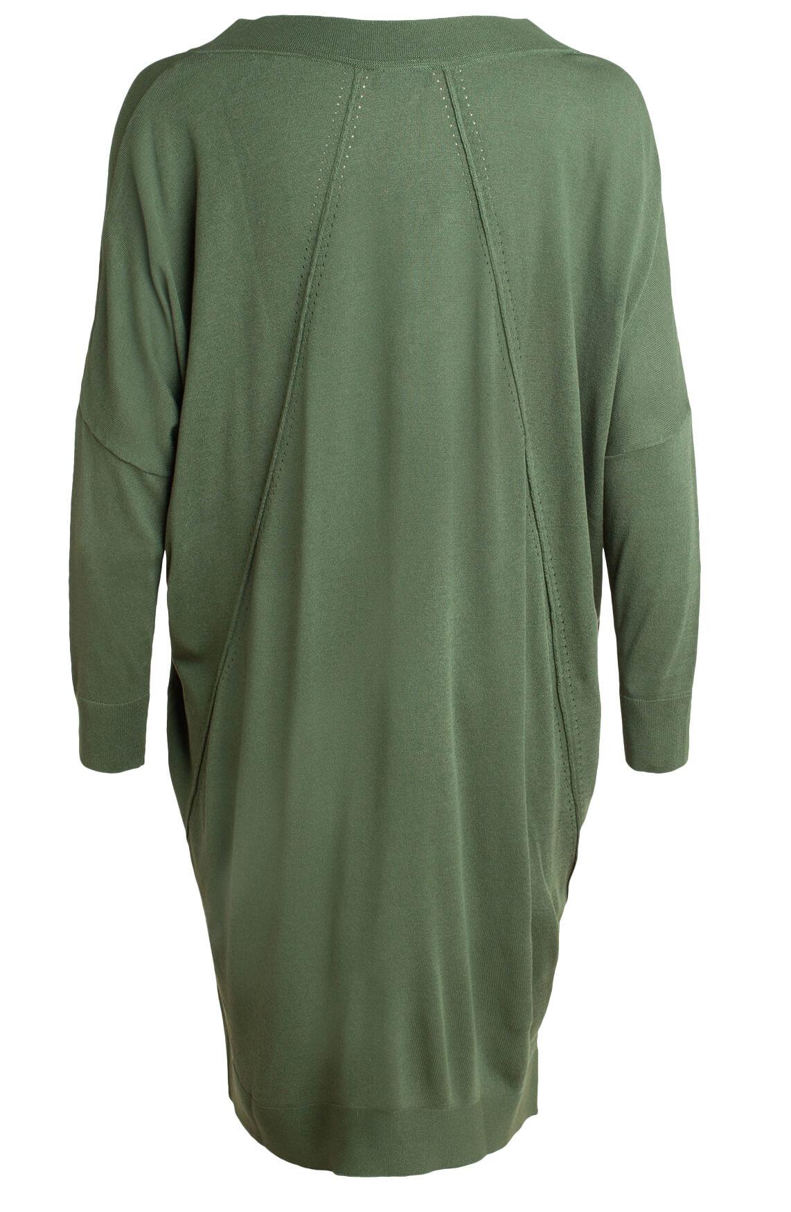 Alix The Label Dames Oversized jurk groen