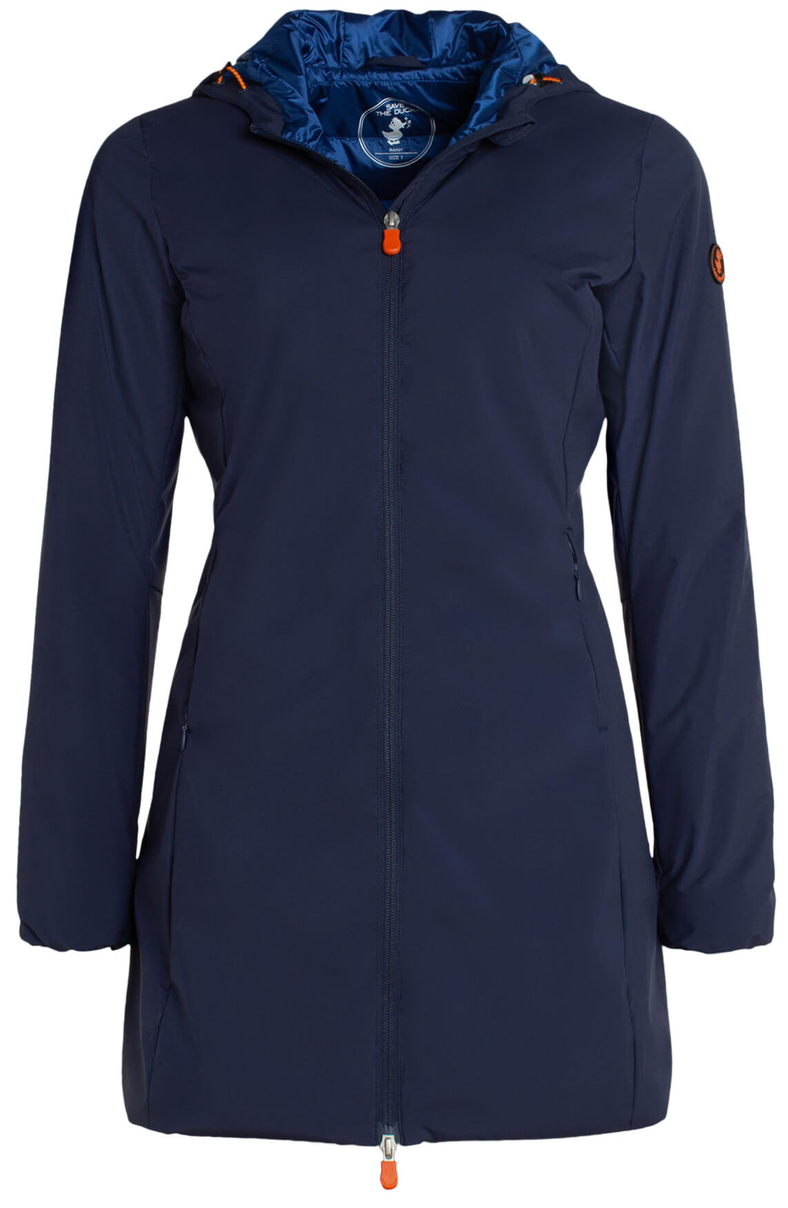 Save the Duck Dames Windbreaker met matte look Blauw