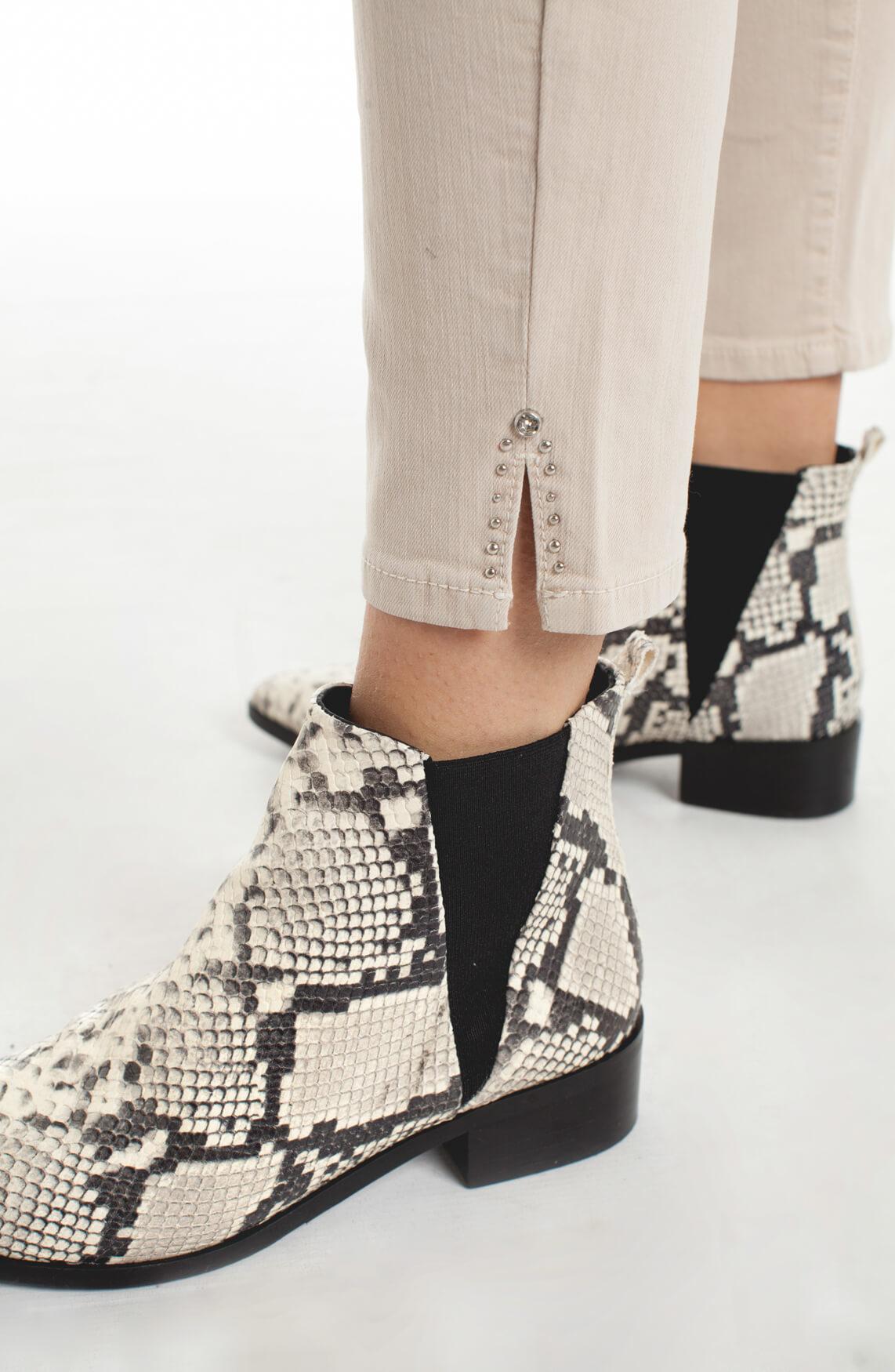 Rosner Dames Audrey high waist jeans Bruin