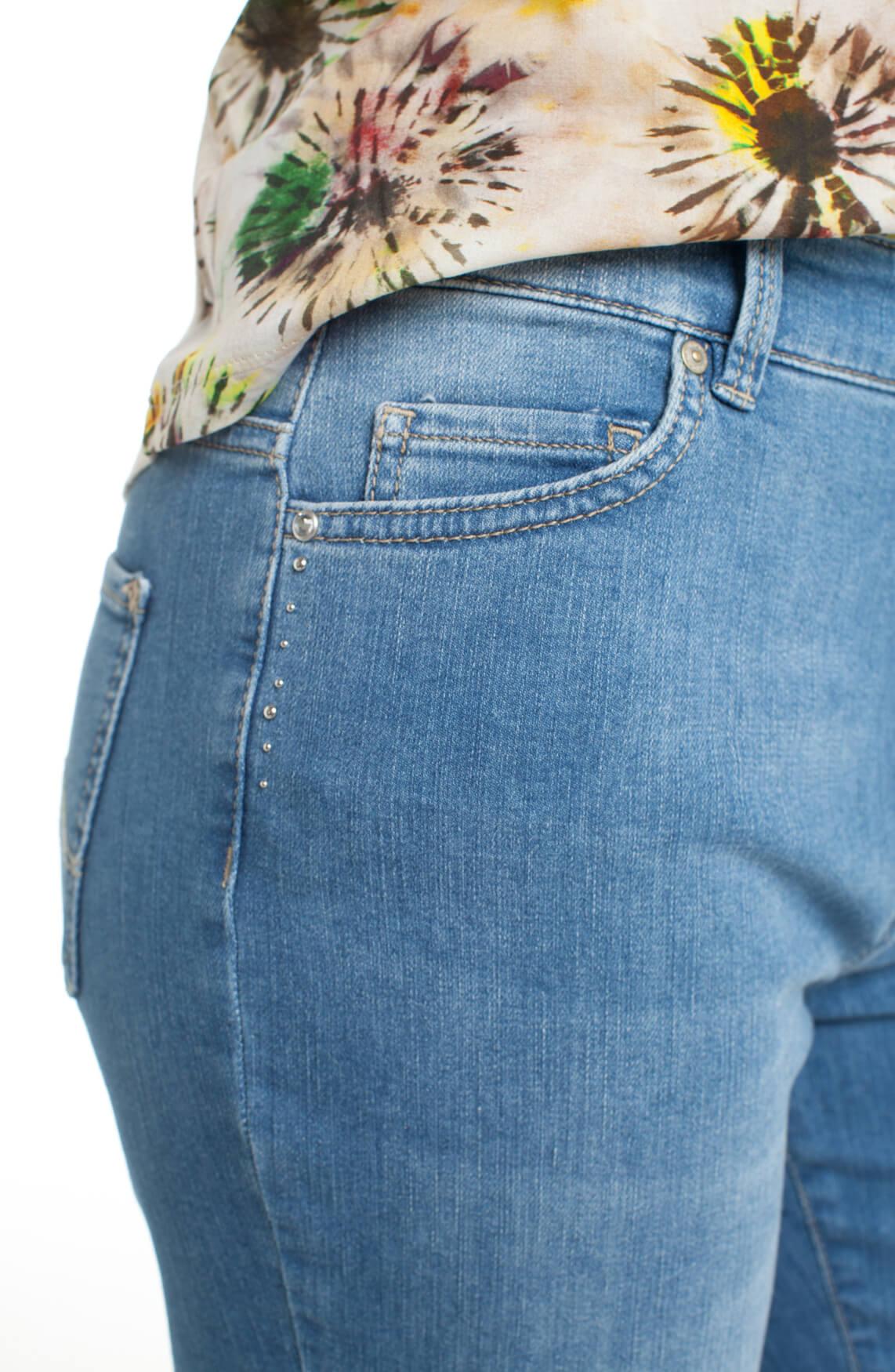 Rosner Dames Audrey jeans met studs Blauw