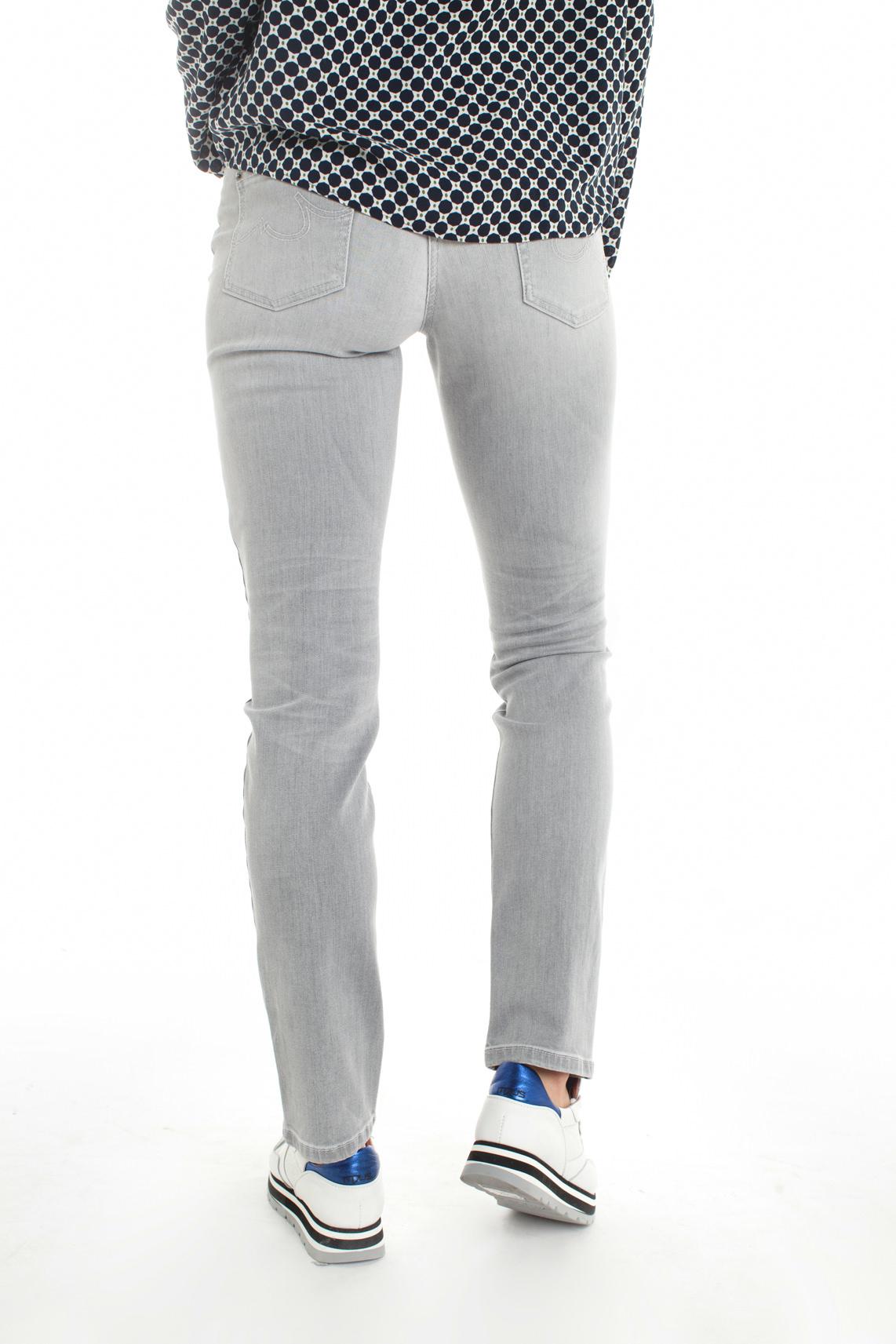 Cambio Dames Parla grijze jeans Grijs