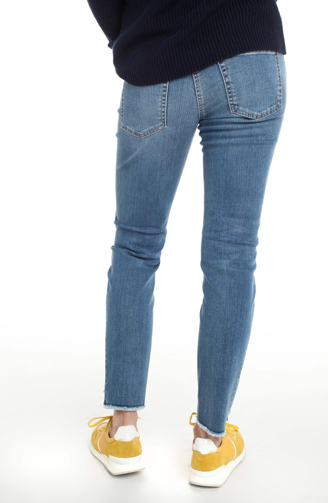 Cambio Dames Liu jeans Blauw