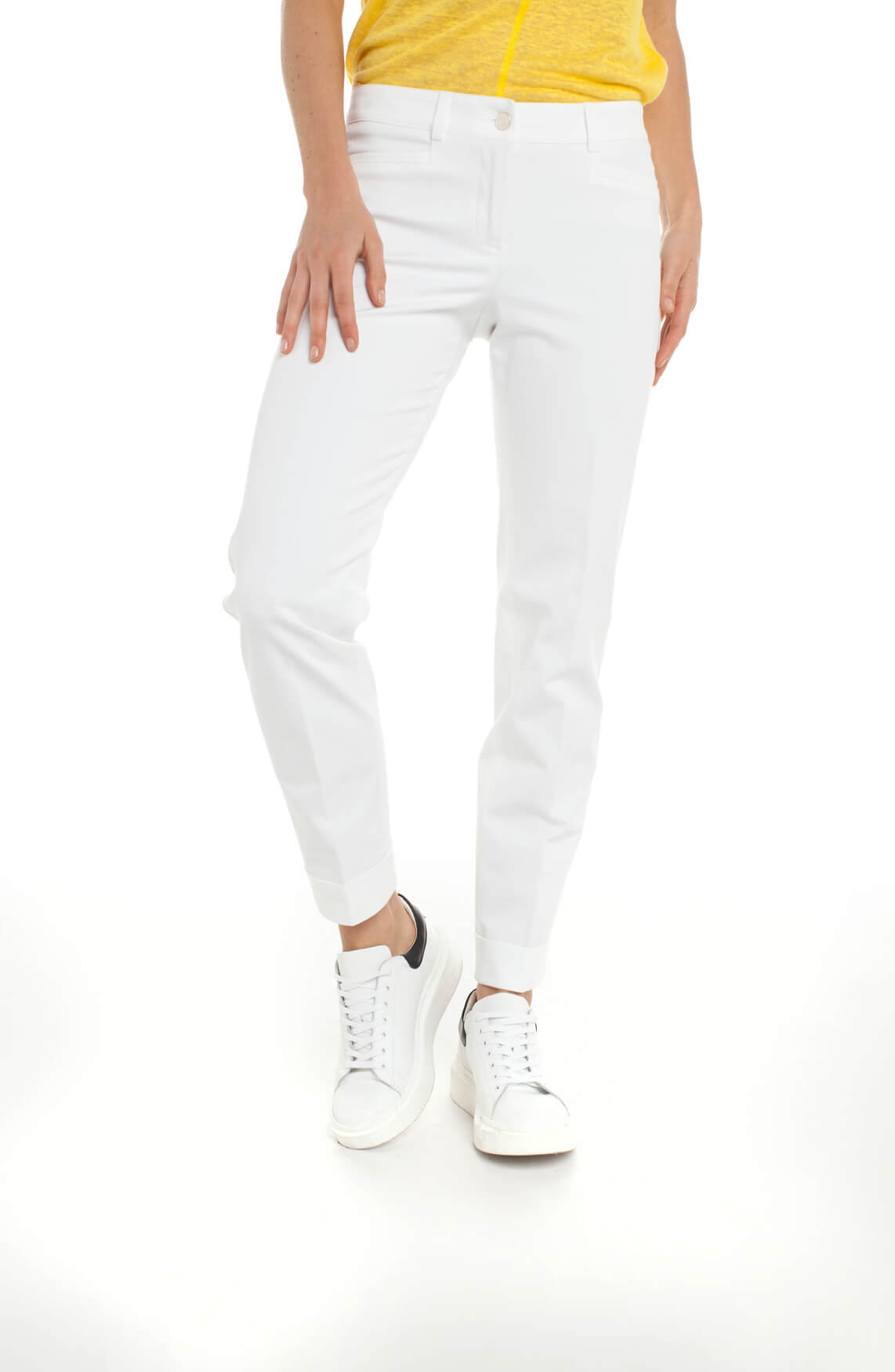 Cambio Dames Renira pantalon wit