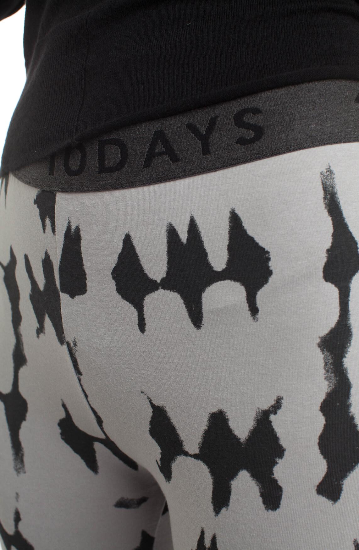 10 Days Dames Legging met print Grijs
