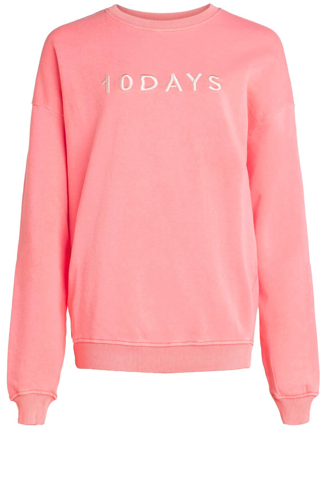 10 Days Dames Sweater met tekst roze