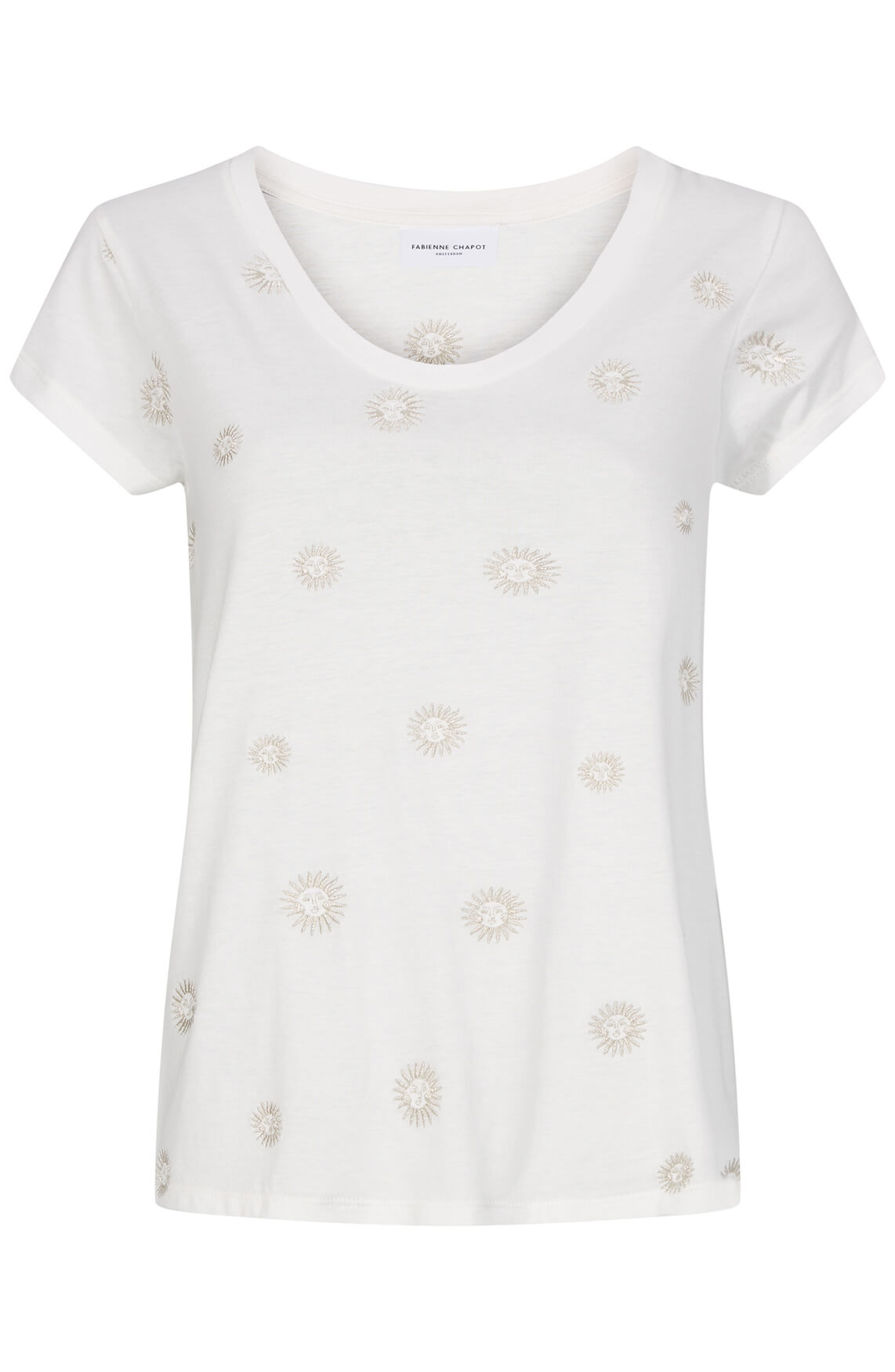 Fabienne Chapot Dames Krista shirt wit