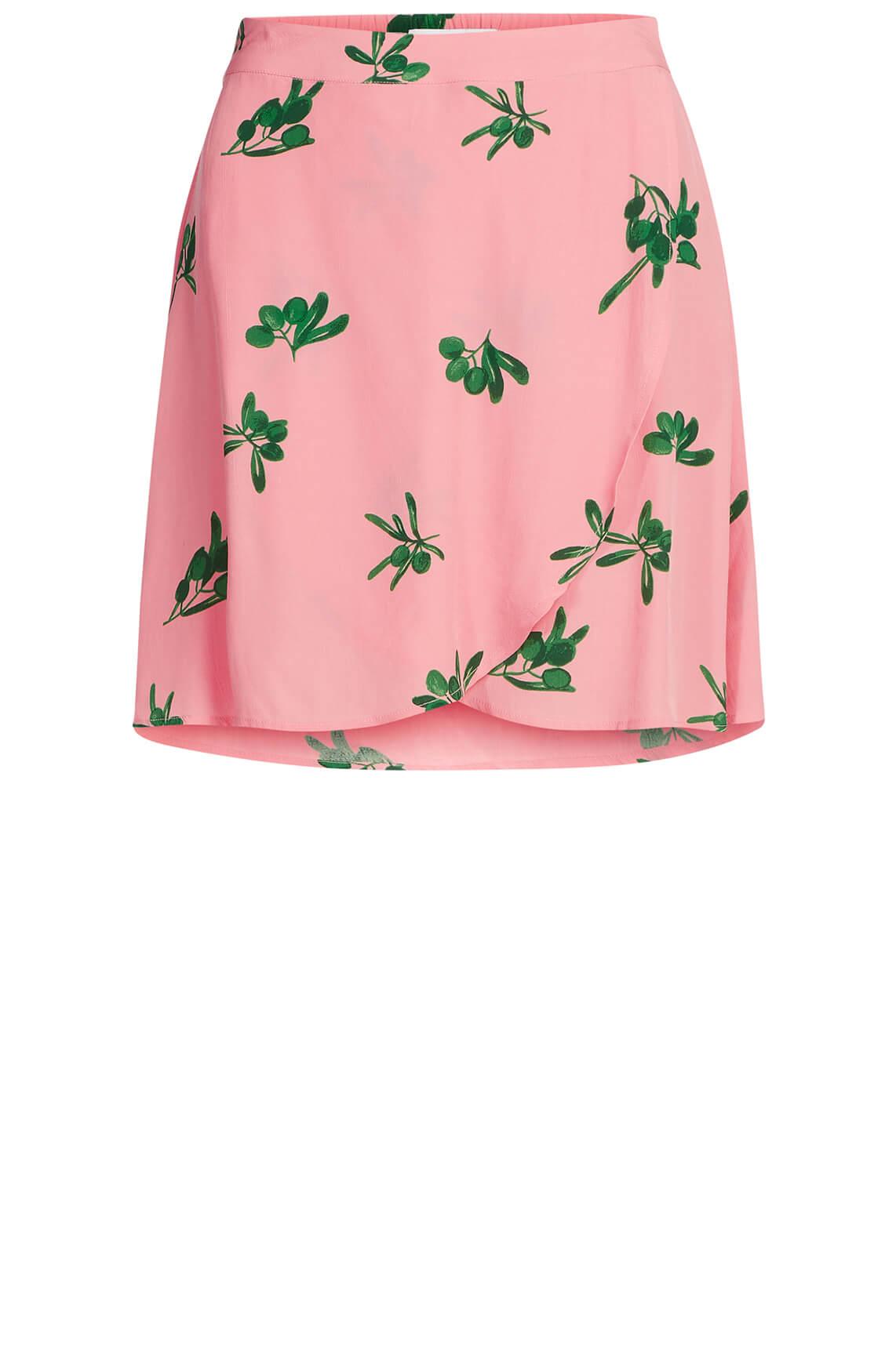 Fabienne Chapot Dames Eyeland overslagrok roze