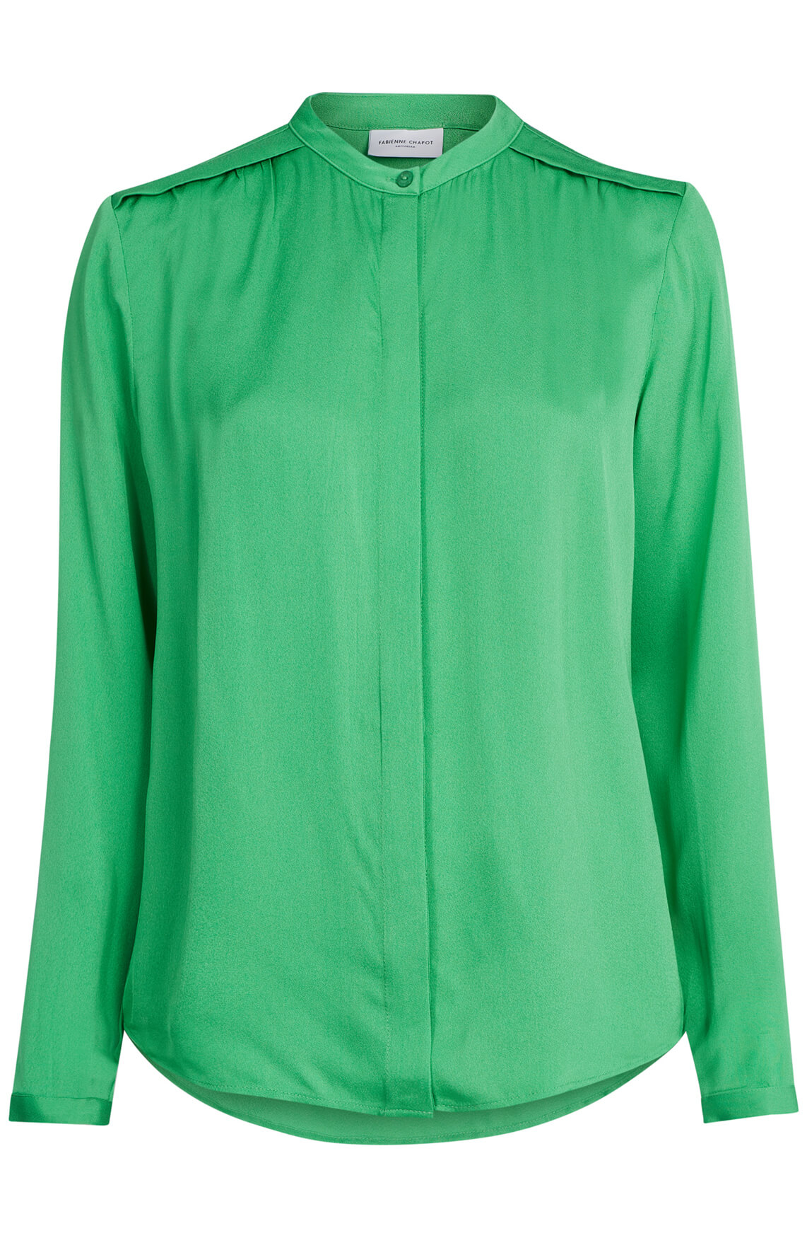 Fabienne Chapot Dames Sunset solid blouse groen