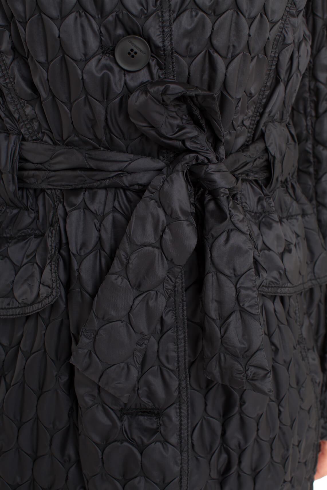 Creenstone Dames Jas met noppenpatroon zwart