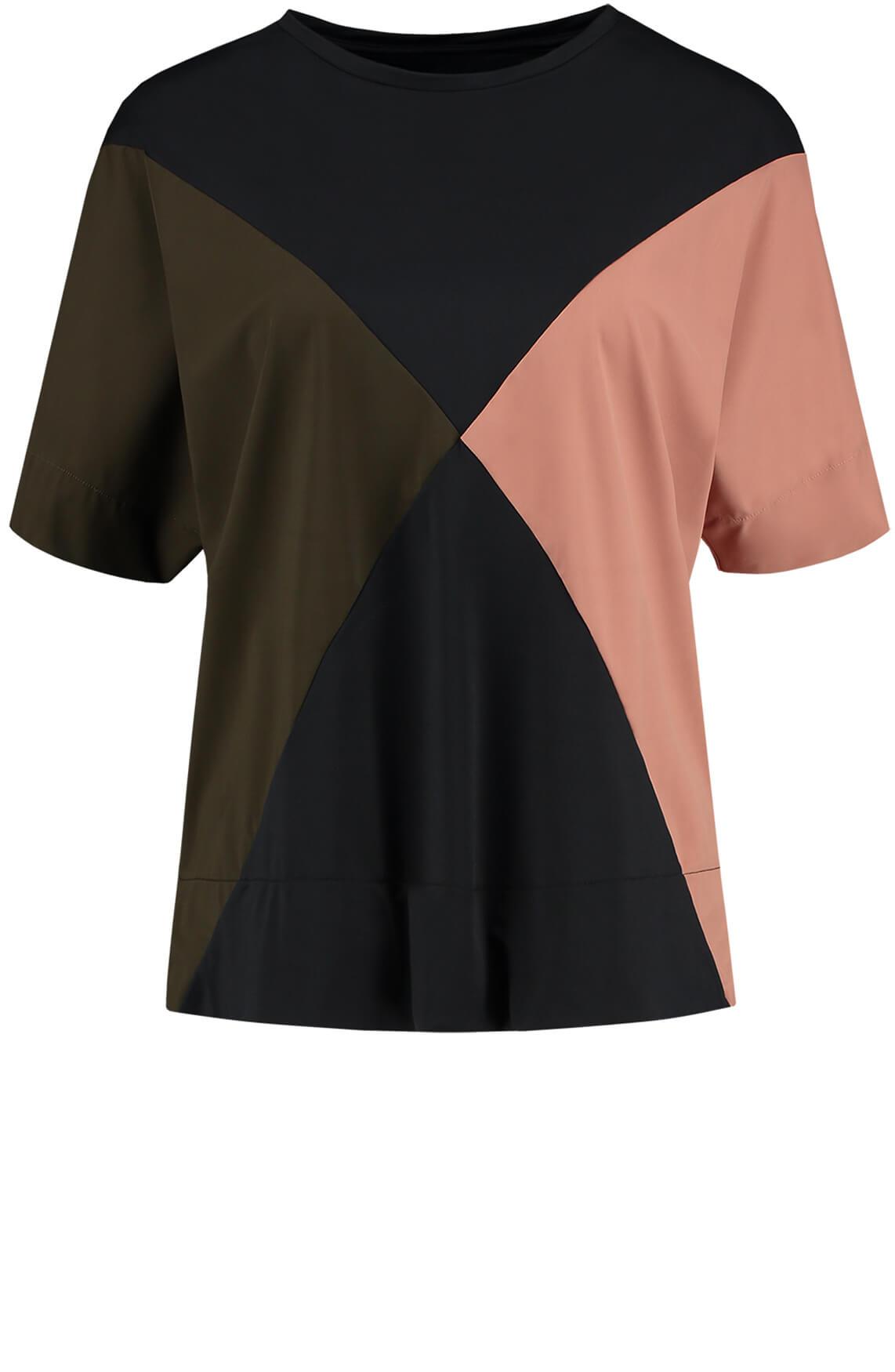 Fifth House Dames Eryn colourblock top roze