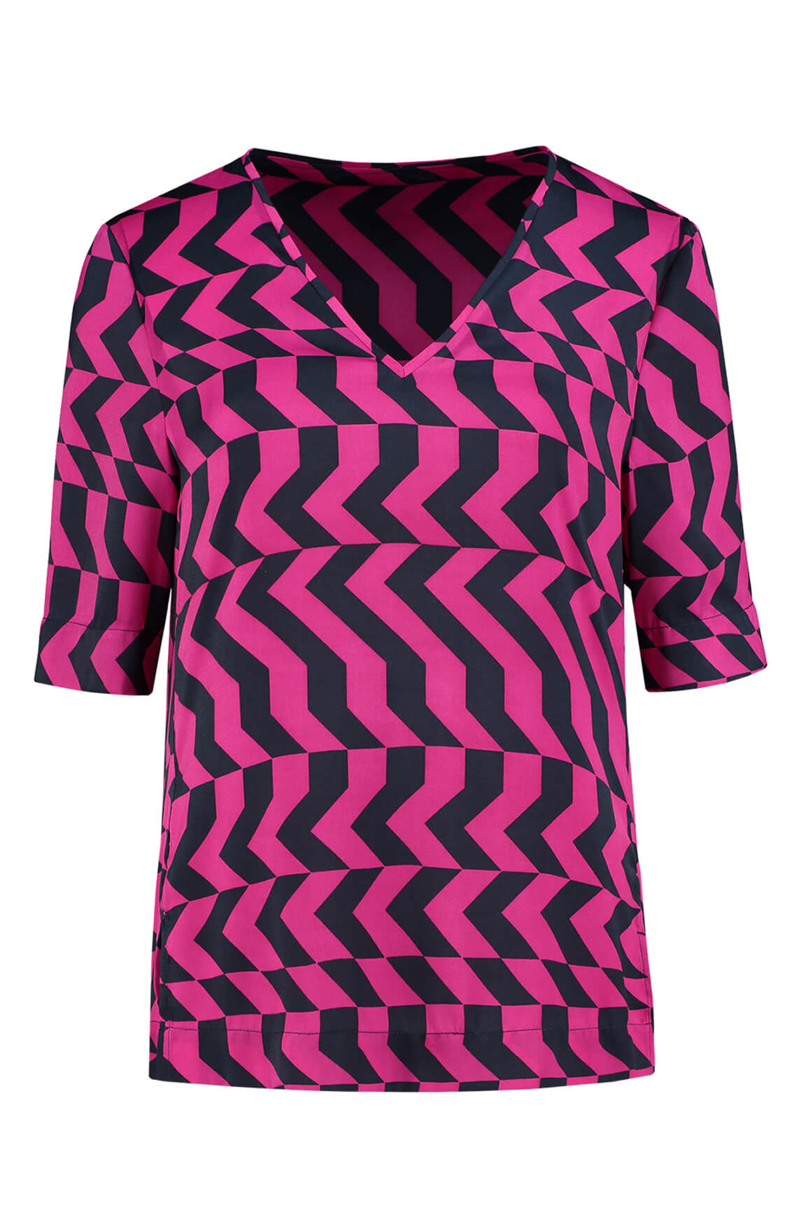 Fifth House Dames Rara zigzag top roze