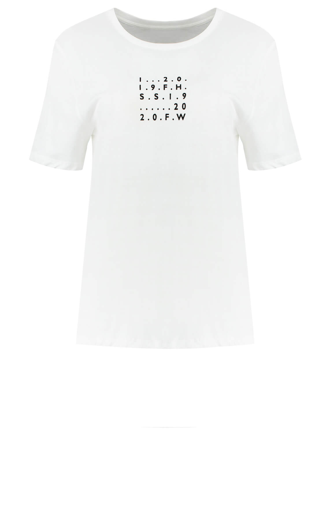 Fifth House Dames Club number shirt wit