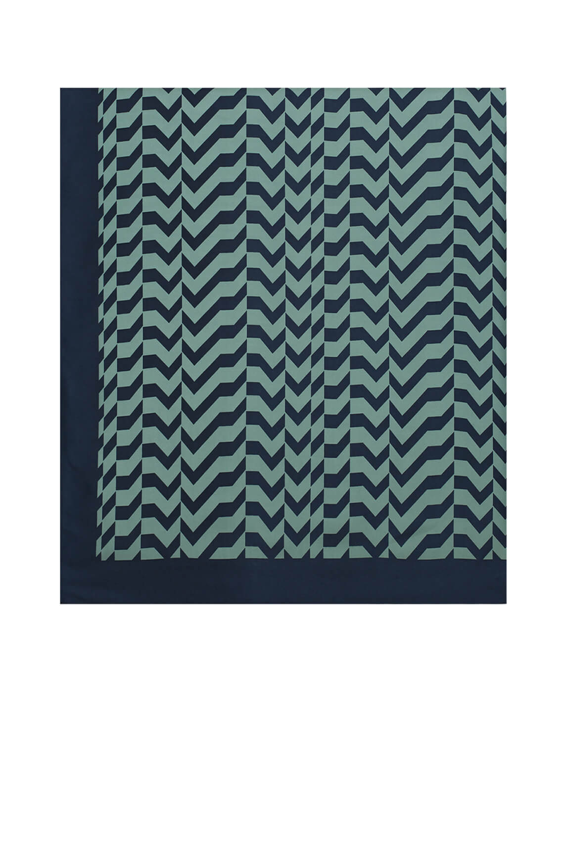Fifth House Dames Rara zigzag shawl groen