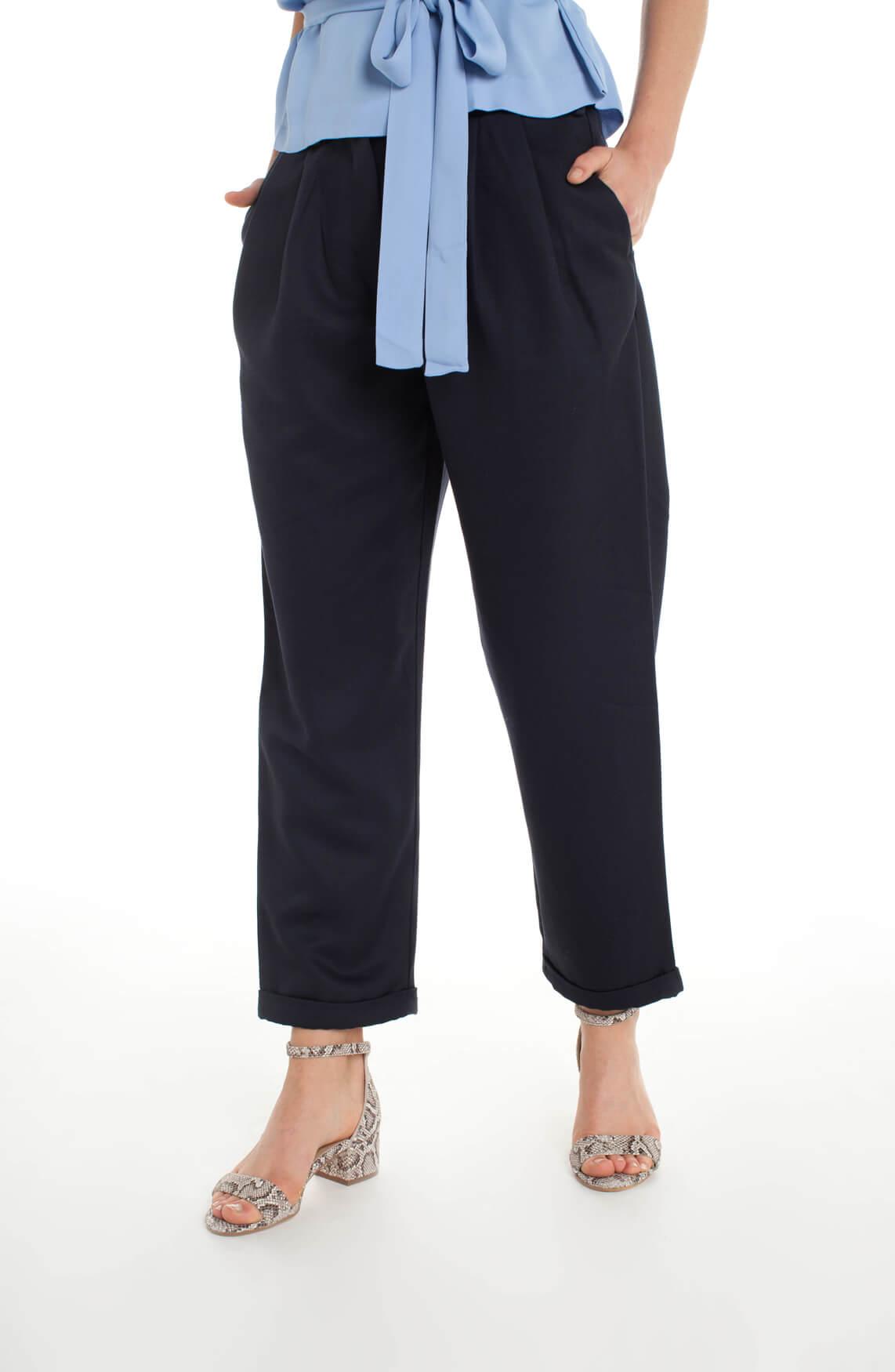 Samsoe Samsoe Dames Delaun pantalon Blauw