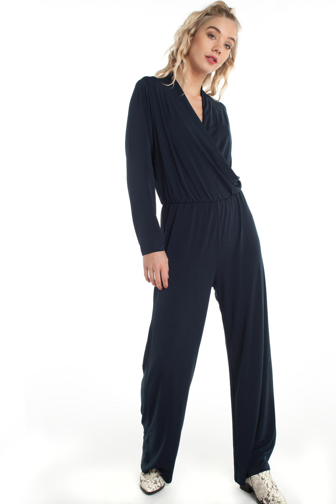 Samsoe Samsoe Dames Sherrie jumpsuit Blauw