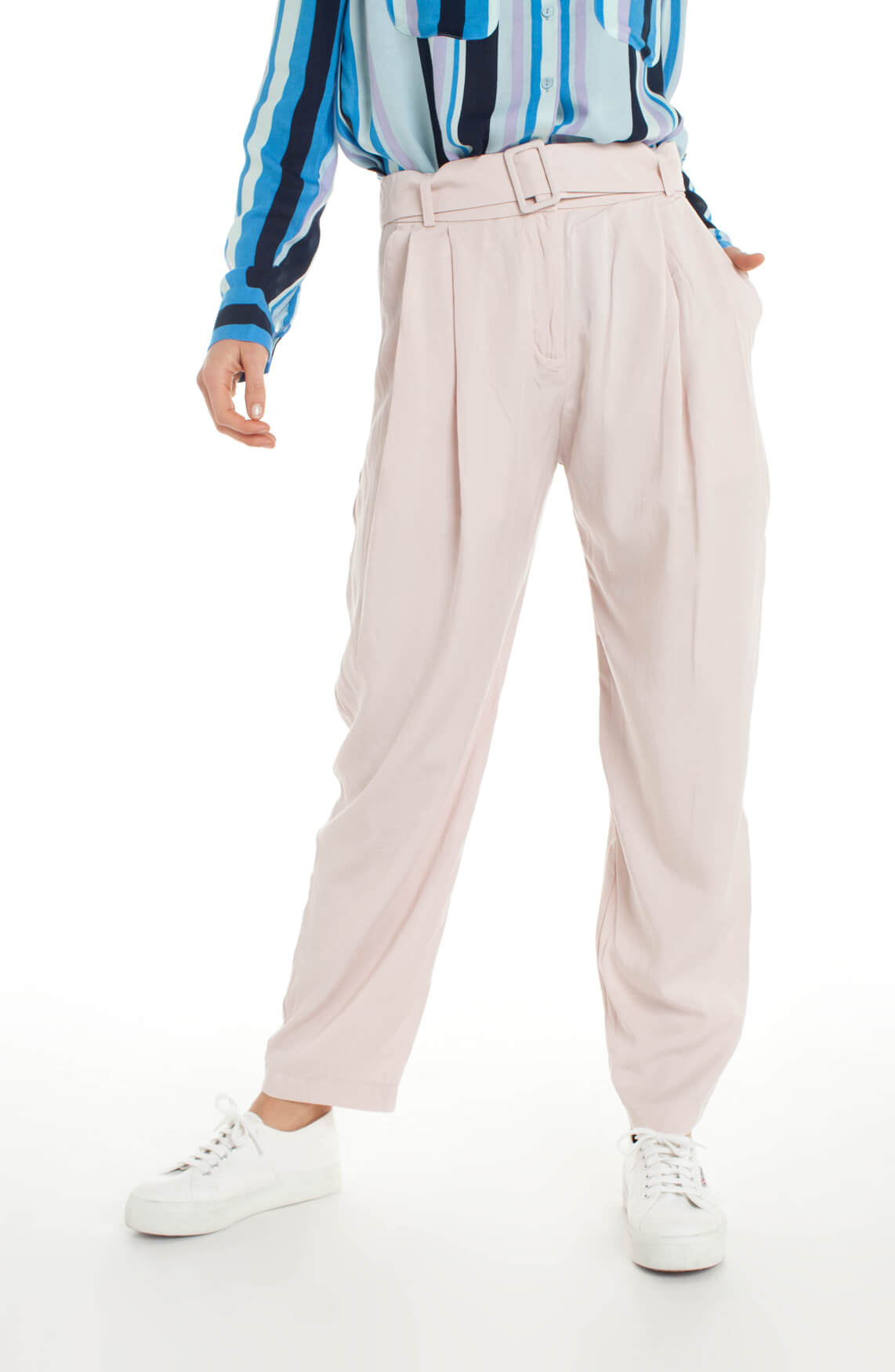 Samsoe Samsoe Dames Aniko pantalon roze