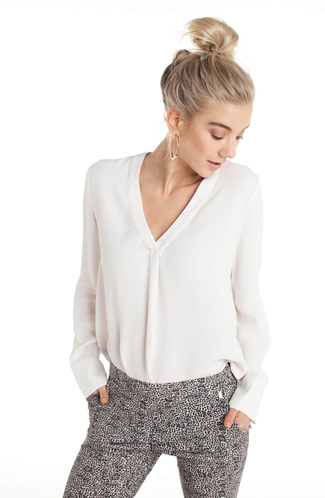 Samsoe Samsoe Dames Hamil blouse wit