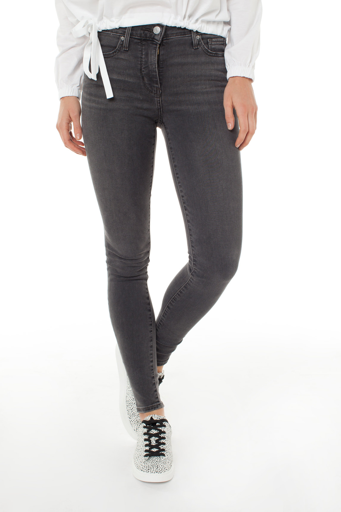 Levi s Dames 310 Shaping skinny jeans L32 Grijs