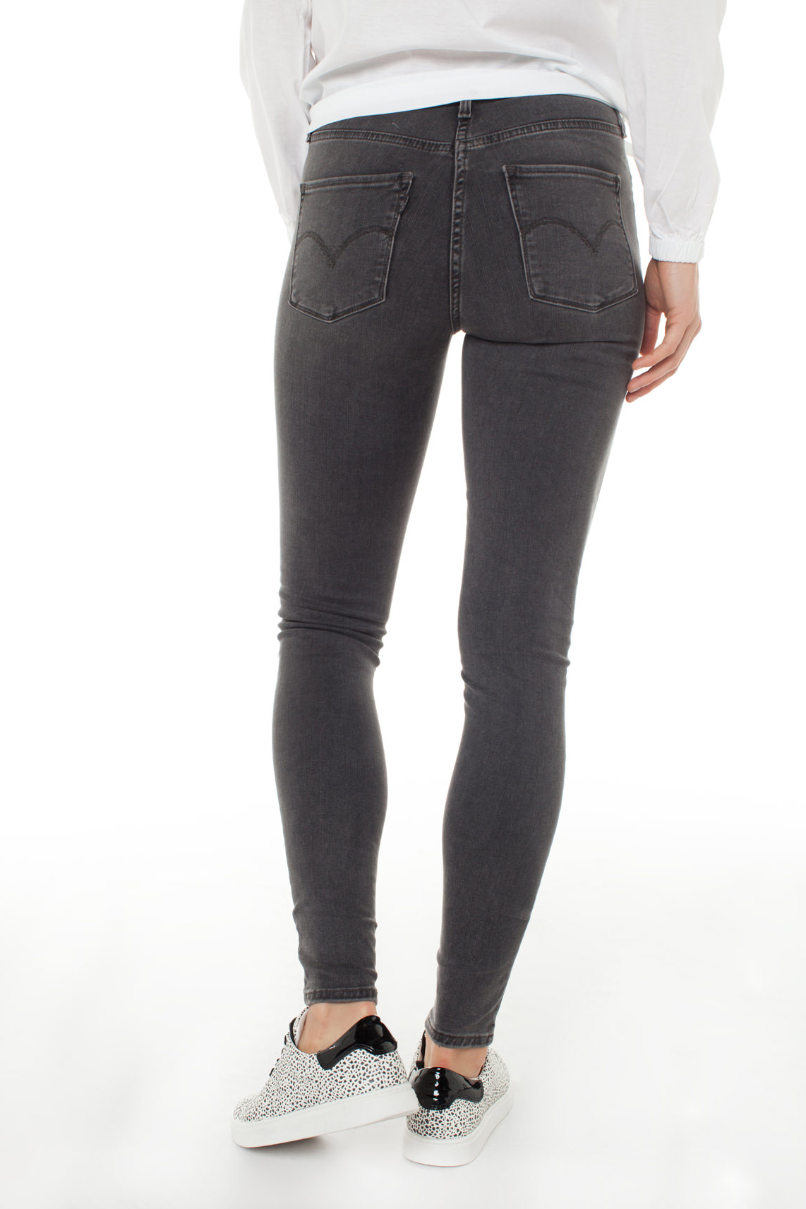 Levi s Dames 310 Shaping skinny jeans L32 Grijs