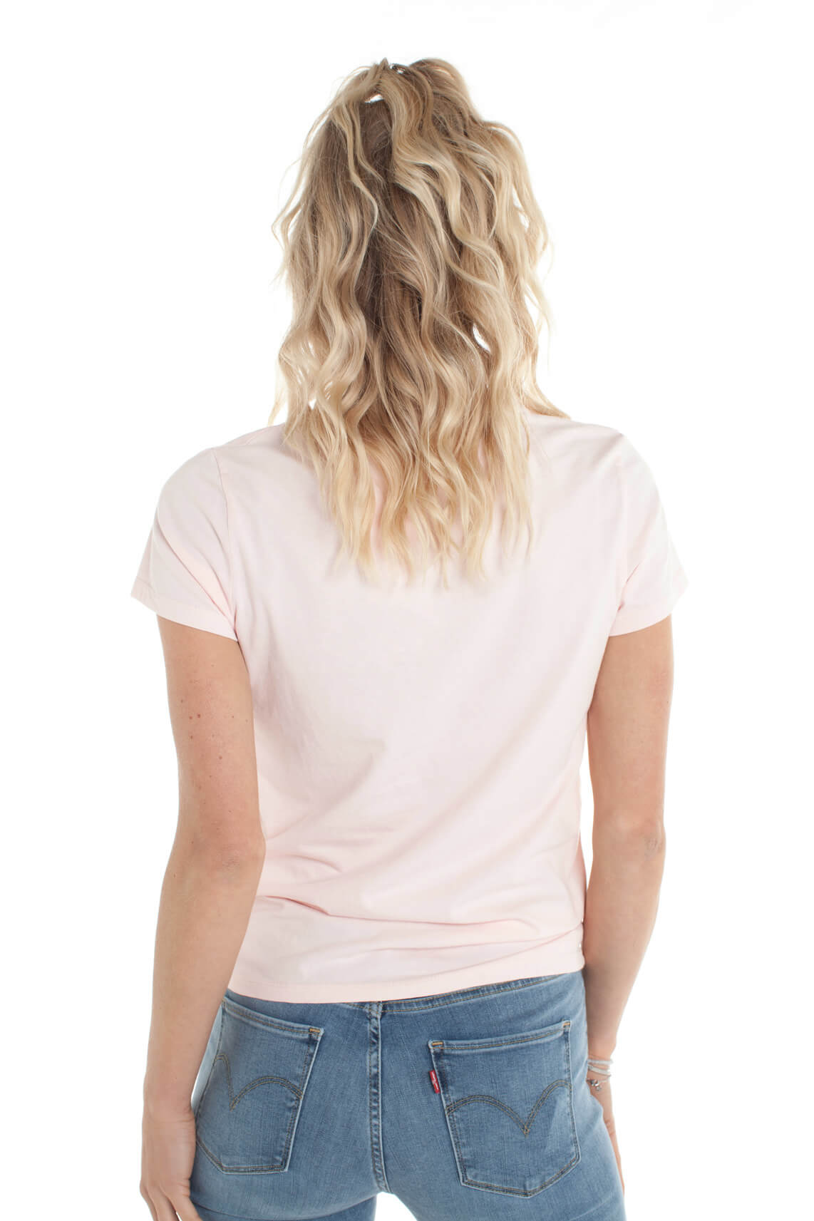 Levi s Dames Basic shirt roze