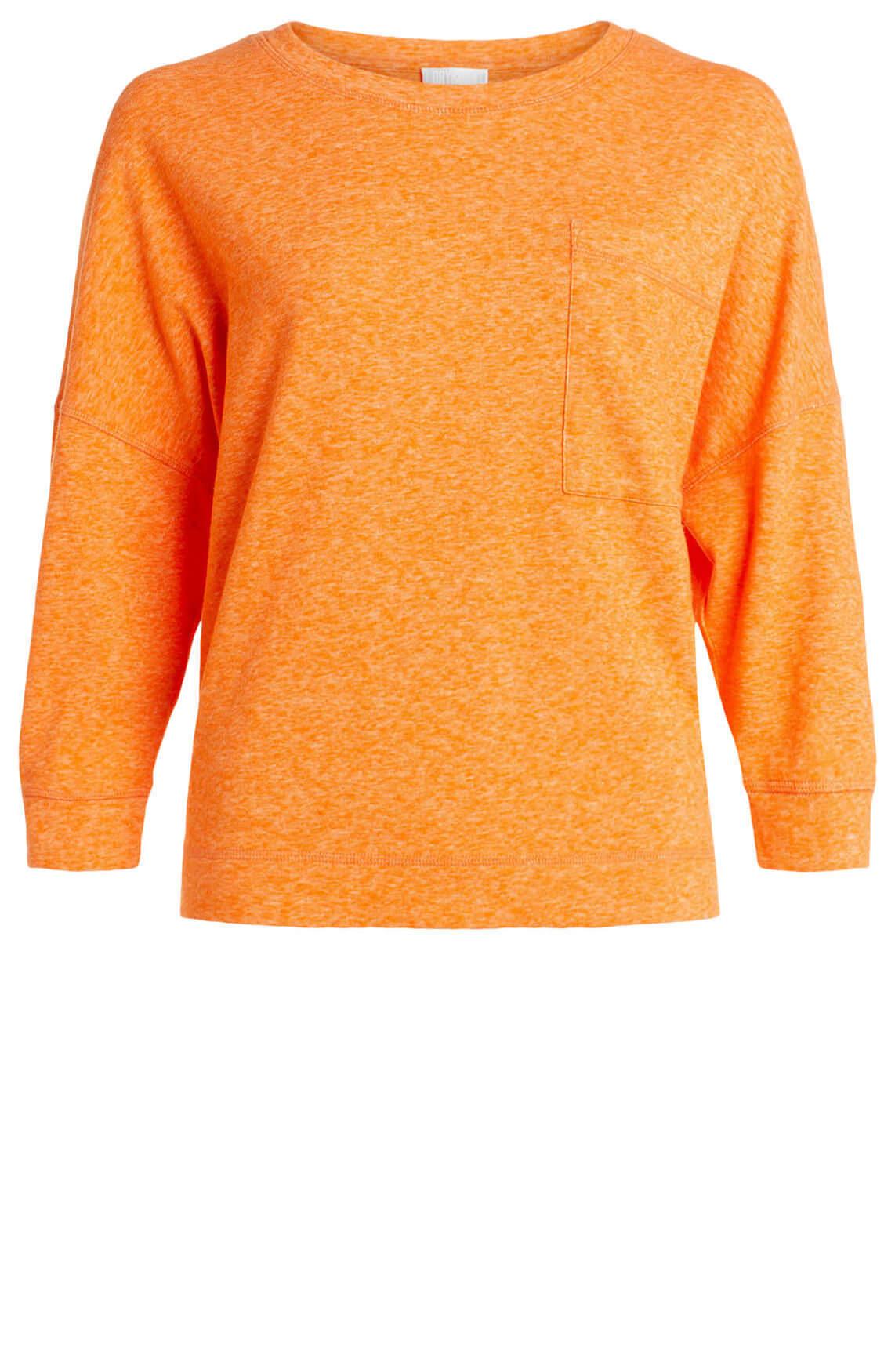 Drykorn Dames Oriama korte sweater Oranje