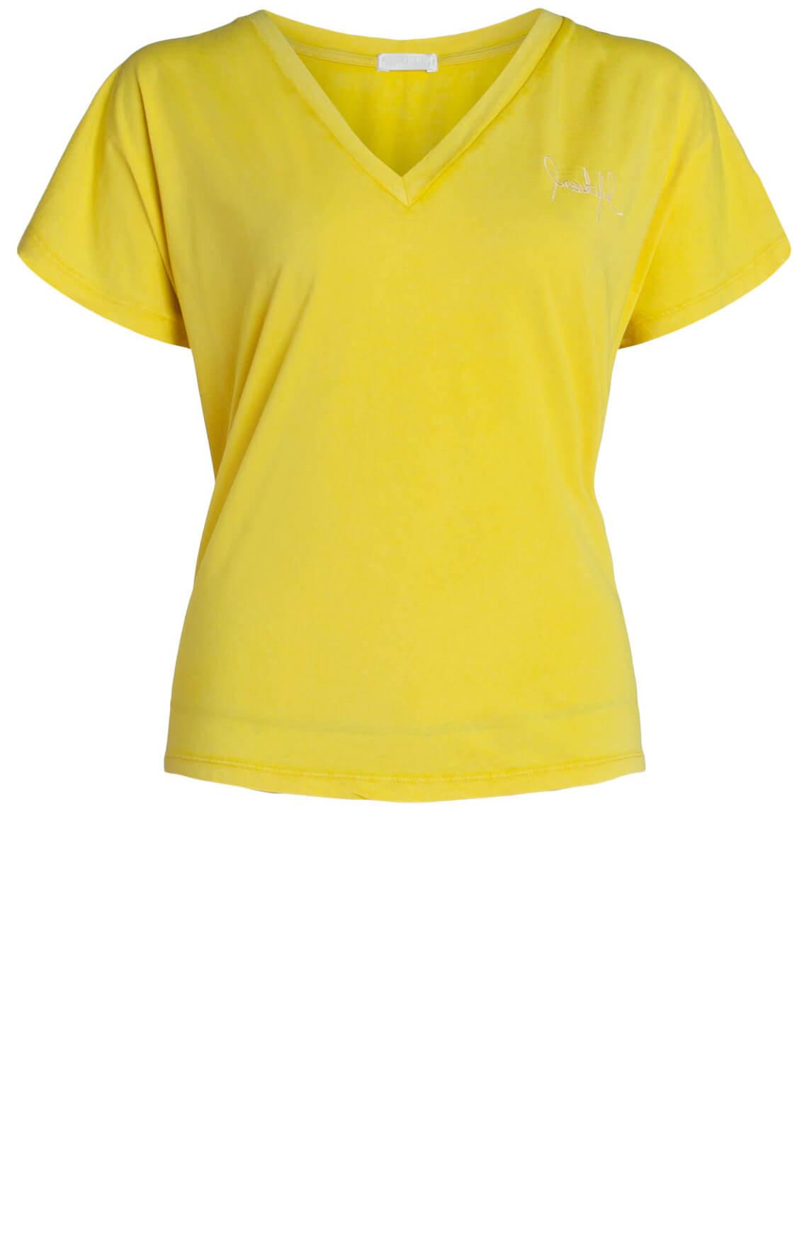 Drykorn Dames Svana shirt geel