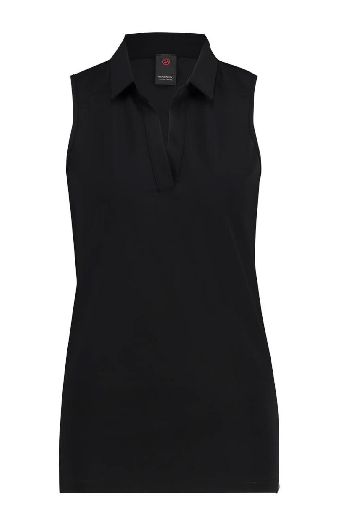 Penn & Ink Dames Casual top zwart