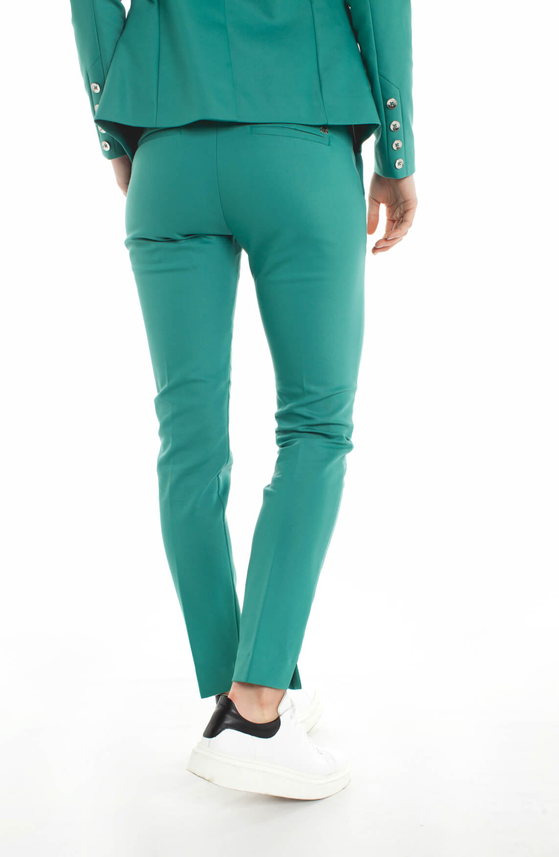 Mos Mosh Dames Abbey Night pantalon groen