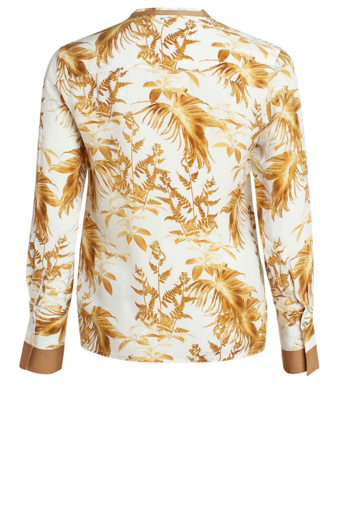 Mos Mosh Dames June cupro blouse Ecru