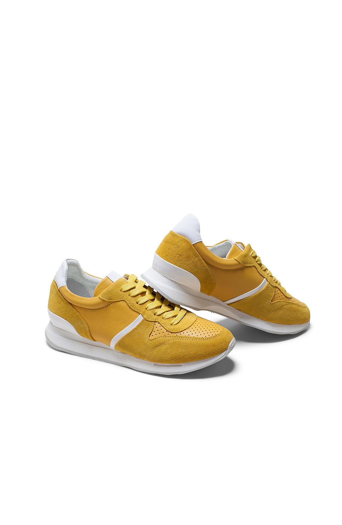 Hip Dames Gele sneaker geel