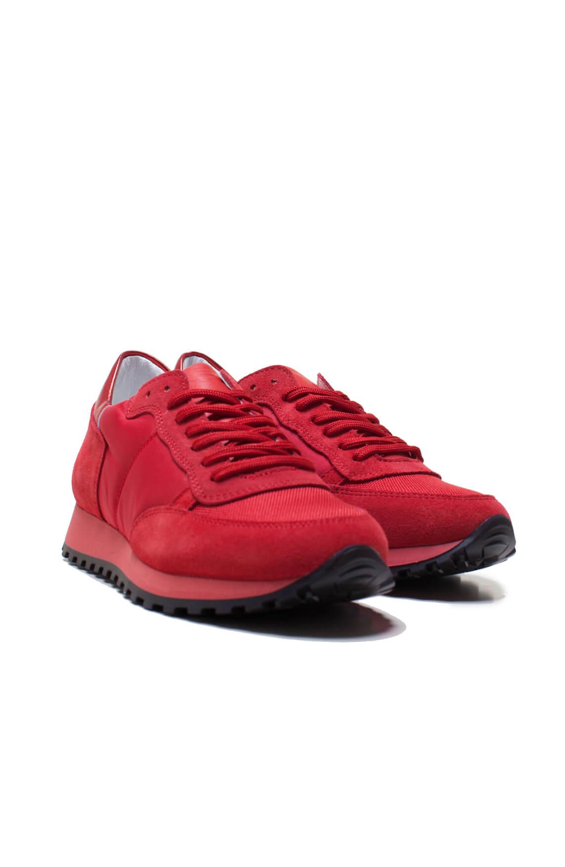 Hip Dames Materiaalmix sneaker Rood