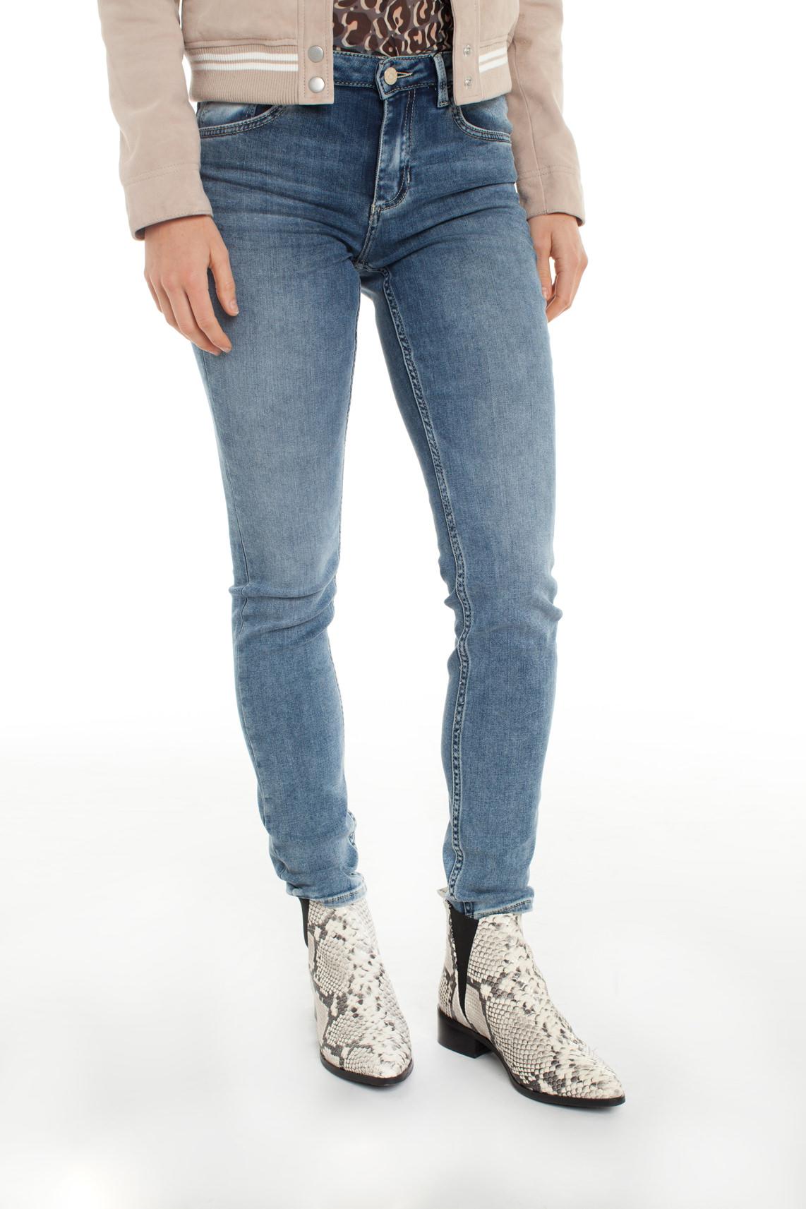 Rosner Dames Antonia gebleekte jeans Blauw