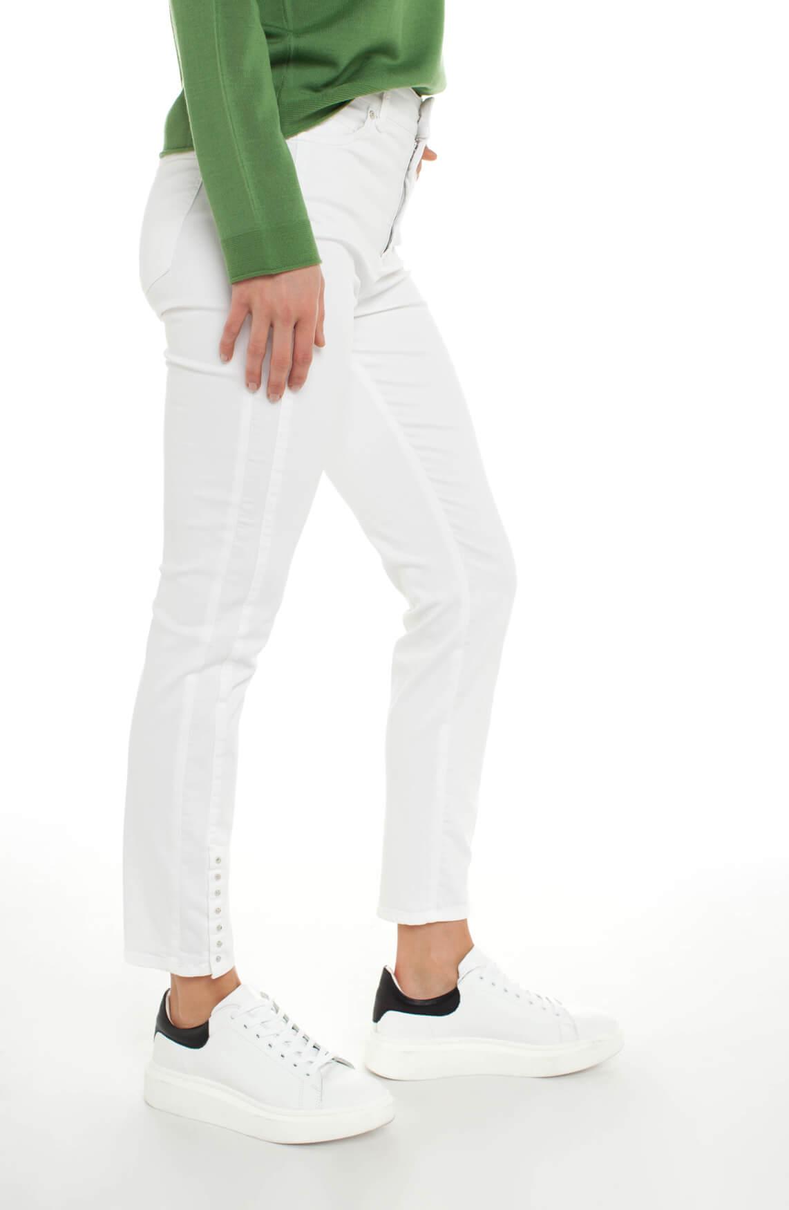 Rosner Dames Audrey broek met knopen wit