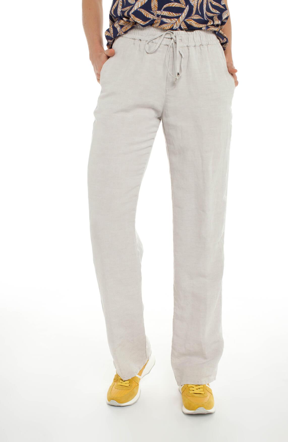 Rosner Dames May broek met elastische tailleband Ecru