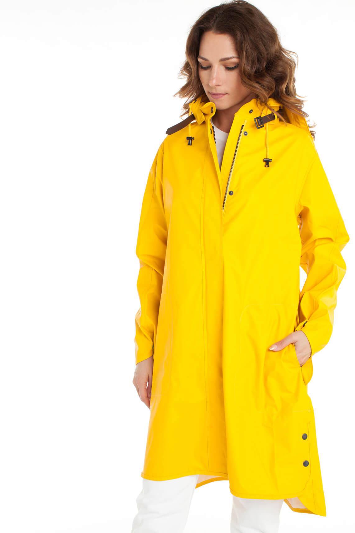 Ilse Jacobsen Dames Regenjas geel