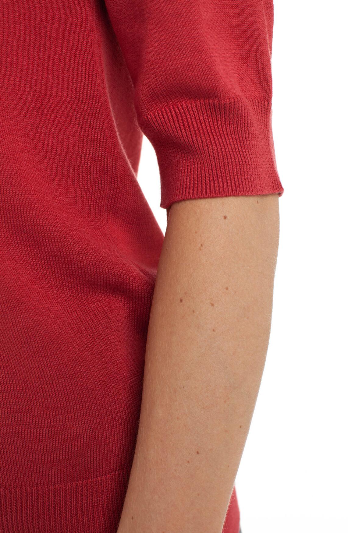 Anna Dames Fijngebreide pullover Rood