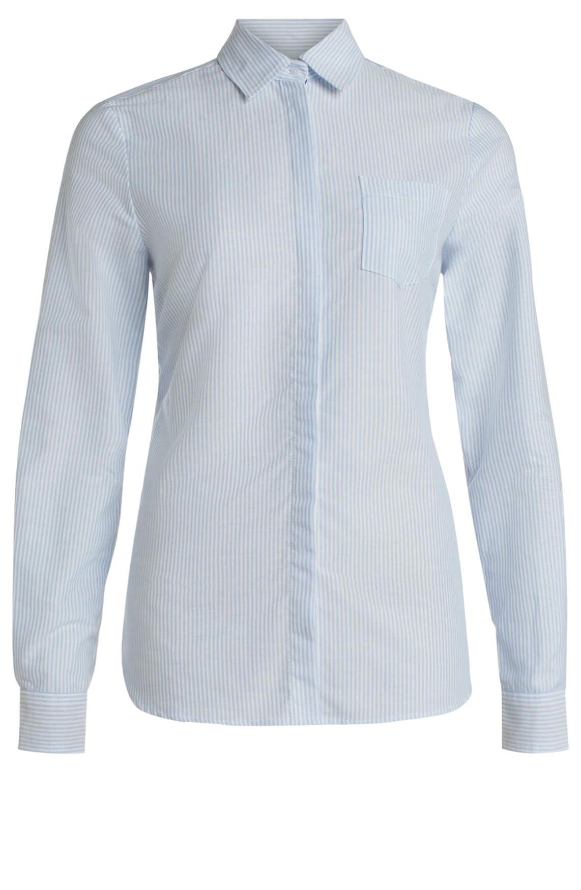 7a5a6efccbf273 Anna Blue Dames Gestreepte blouse Blauw