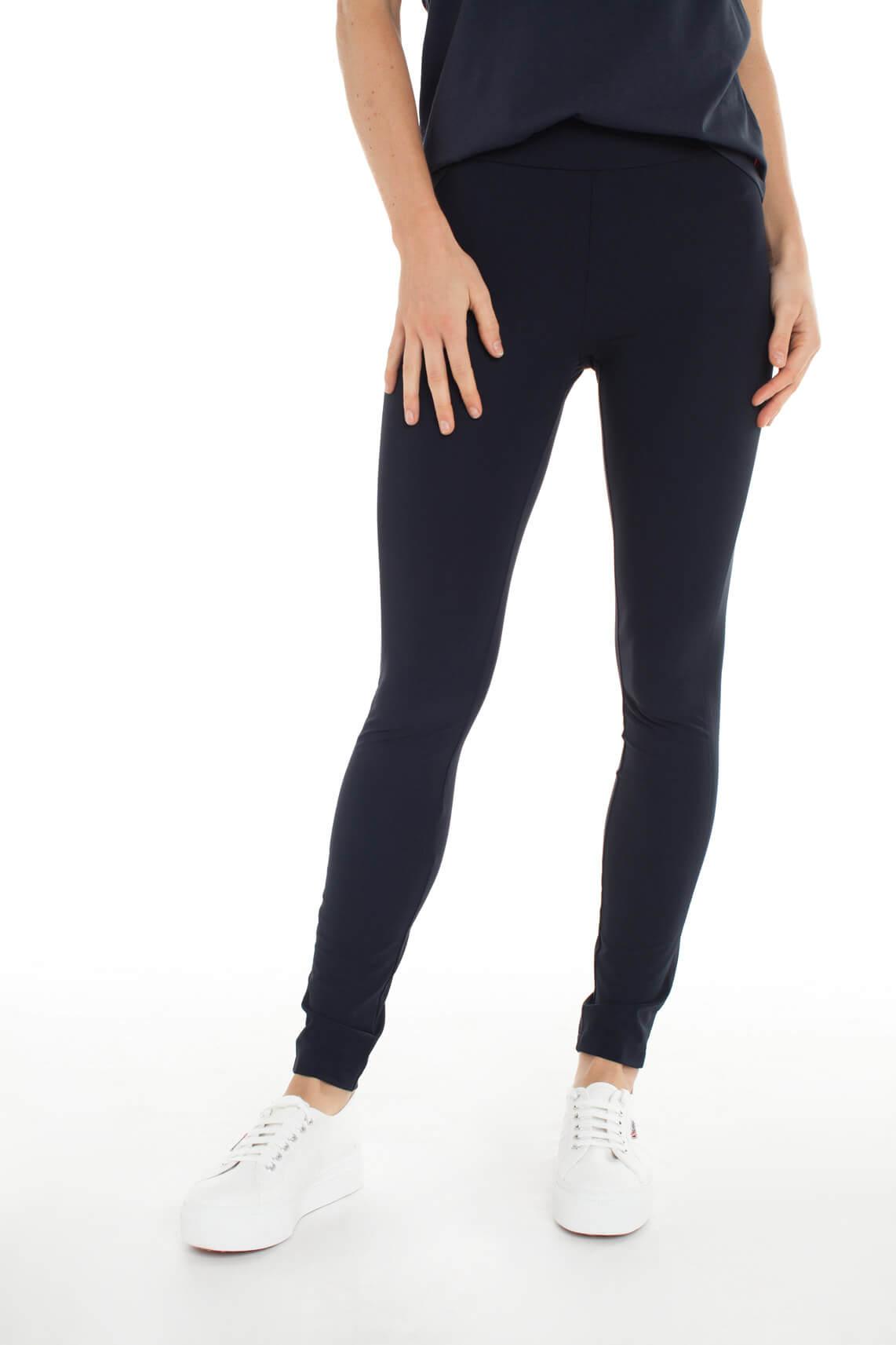 Anna Dames Jersey sensitive legging Blauw