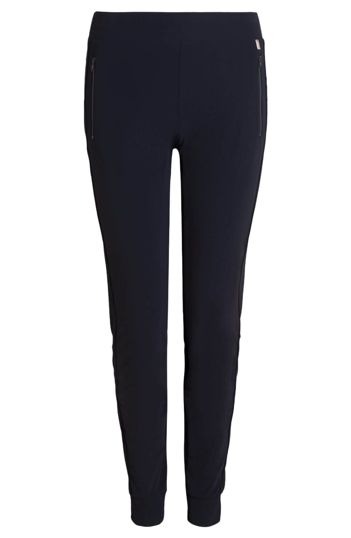 Anna Dames Comfortabele pantalon Blauw