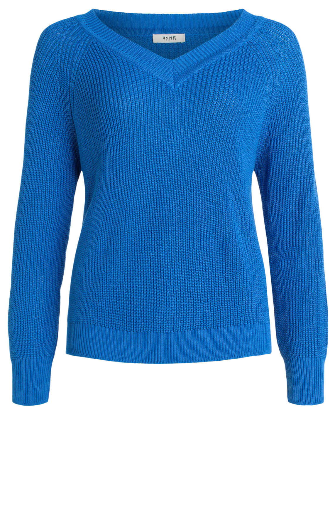 Anna Dames Gebreide trui Blauw