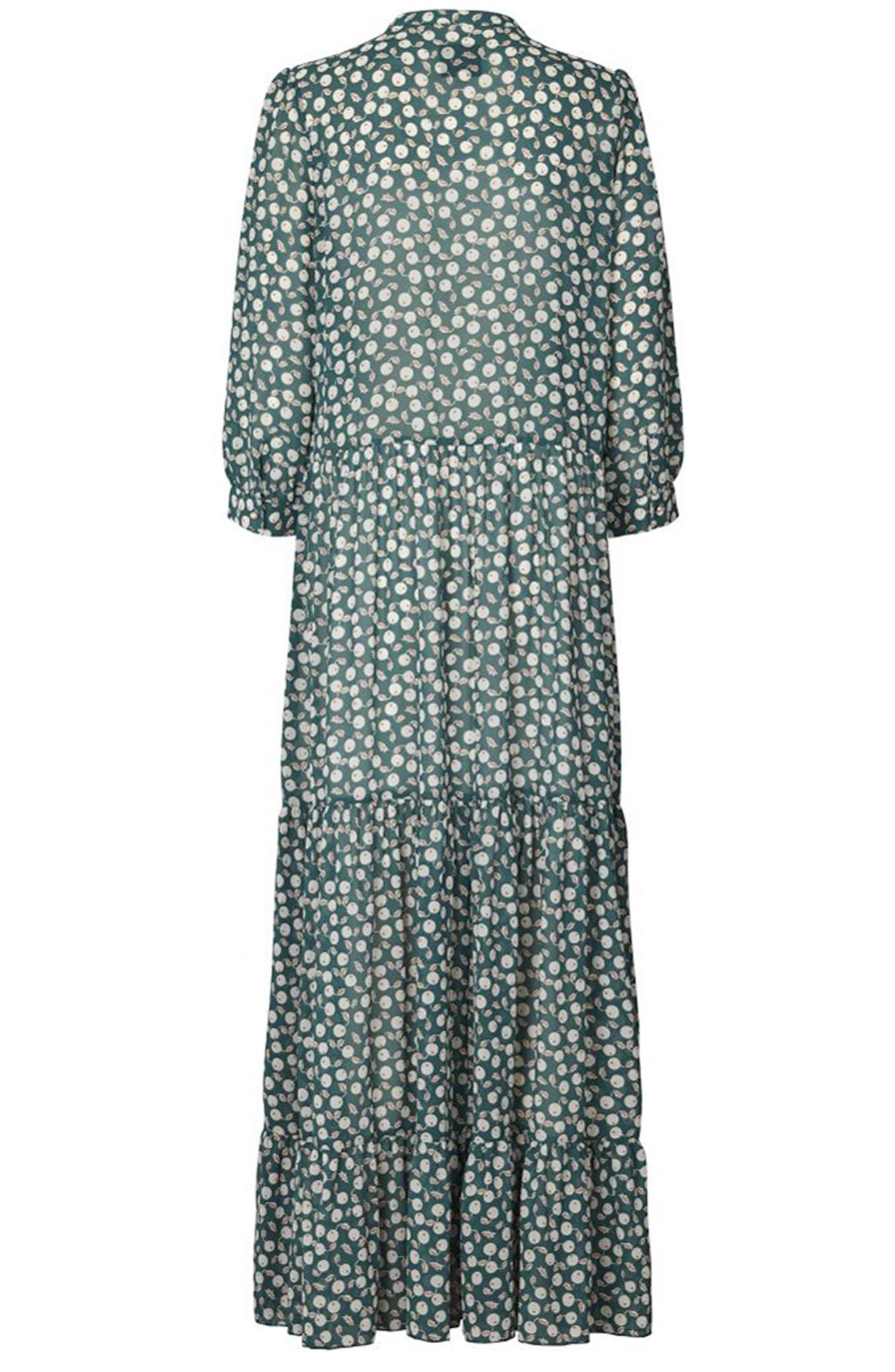 Lollys Laundry Dames Nee maxi jurk groen
