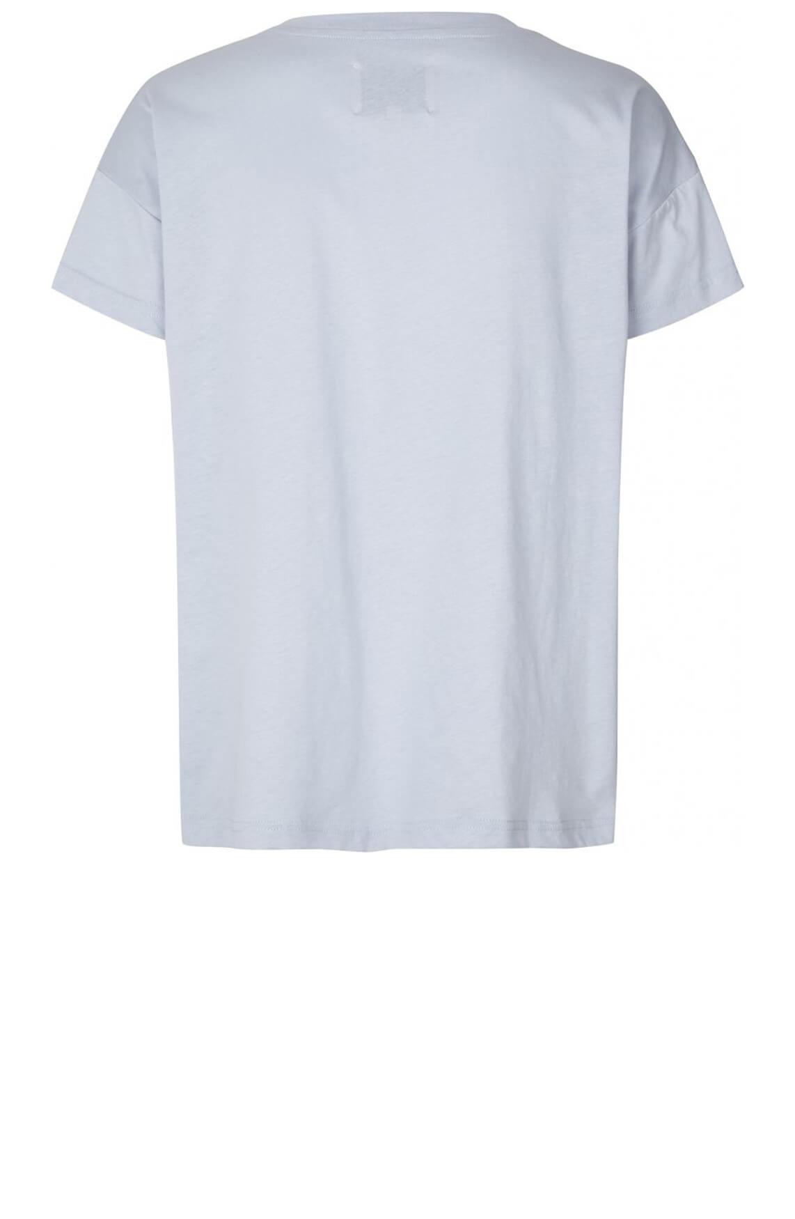 Lollys Laundry Dames Donna shirt Blauw