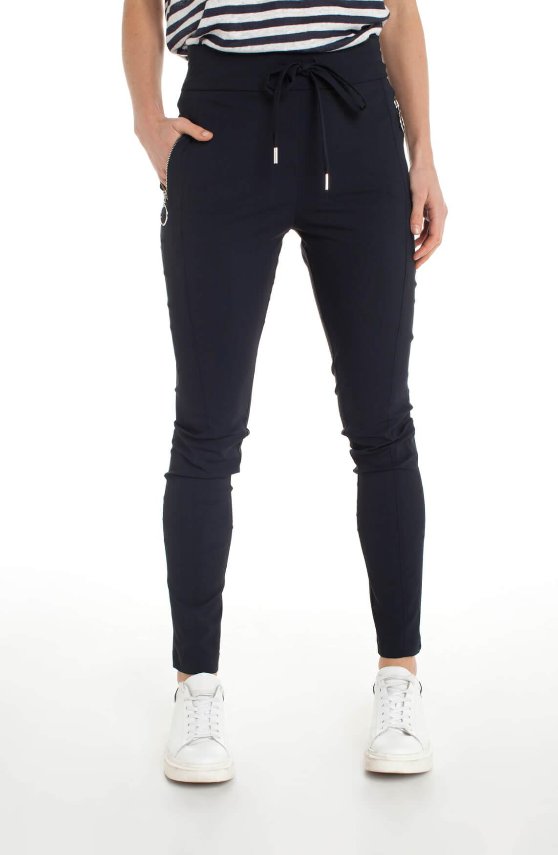 Jane Lushka Dames Jersey jogpantalon Blauw