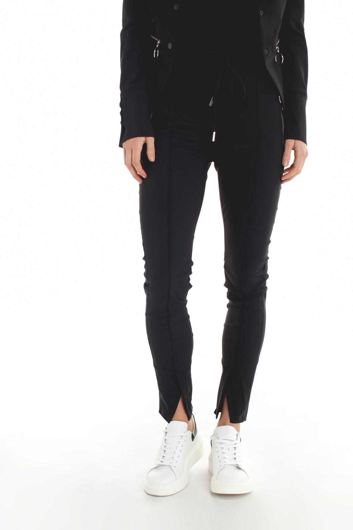 Jane Lushka Dames Comfortabele broek zwart