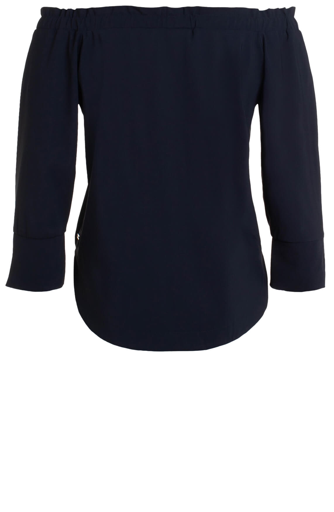 Jane Lushka Dames Off shoulder blouse Blauw