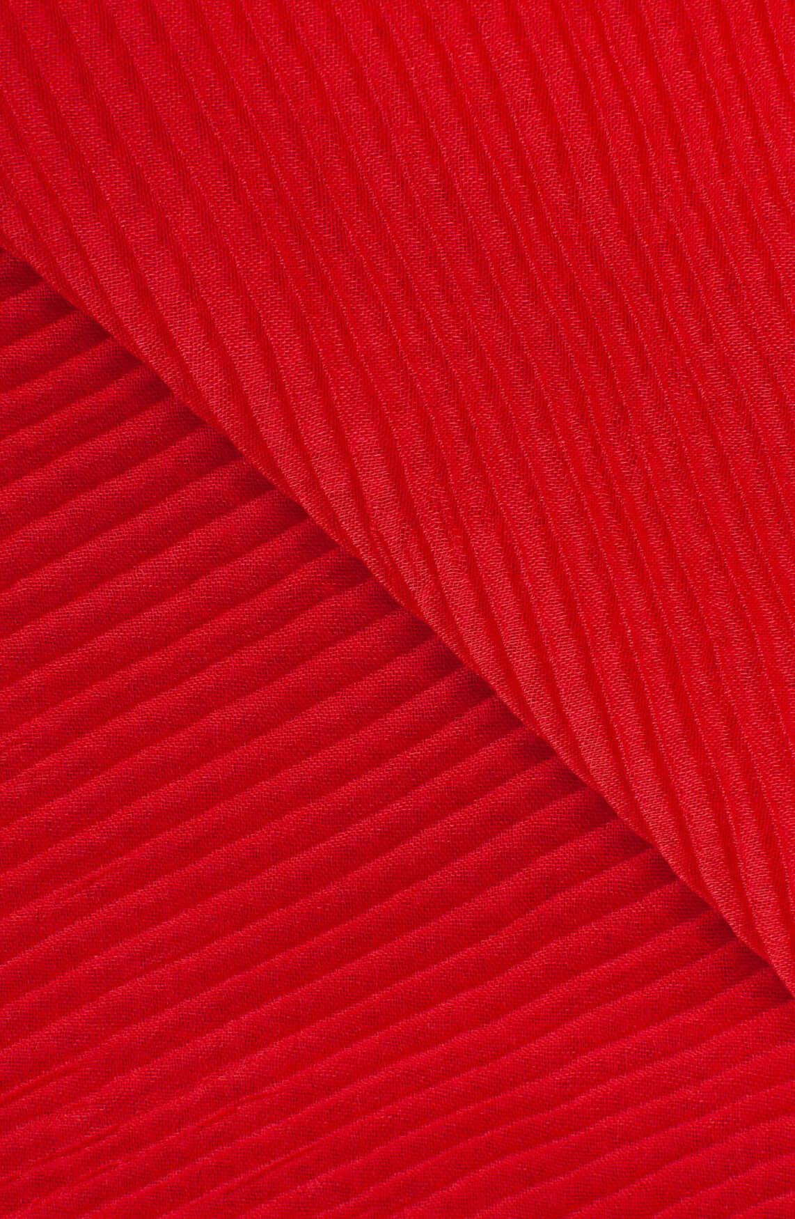 Codello Dames Plissé shawl Rood