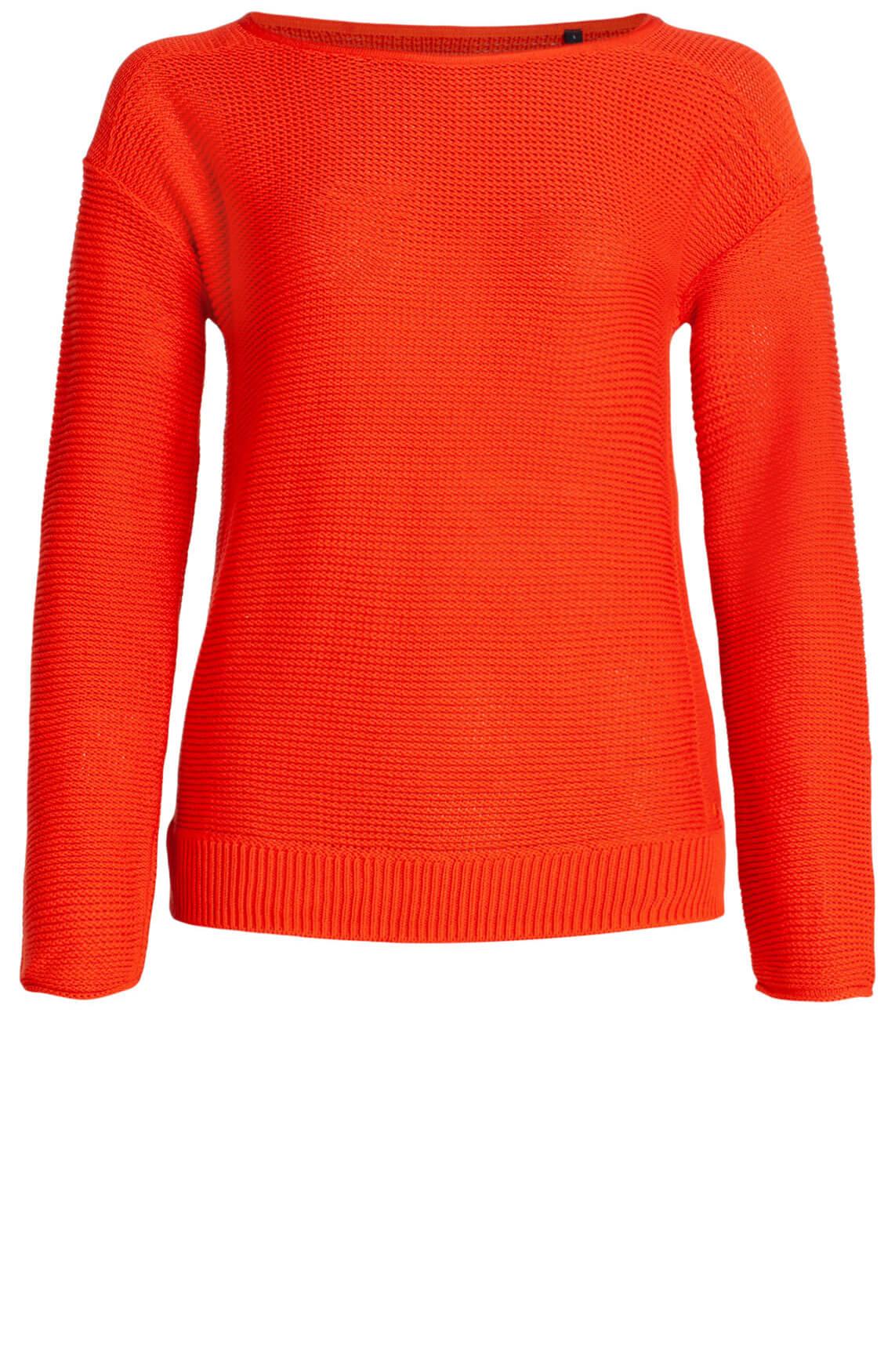 Marc O'Polo Dames Gebreide pullover Rood