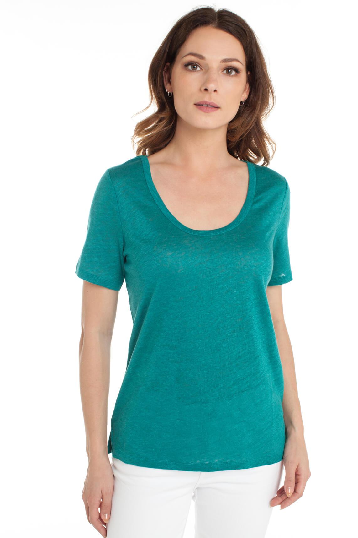 Marc O'Polo Dames Linnen shirt groen