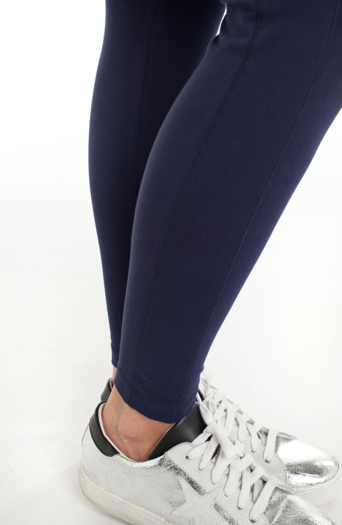Anna Blue Dames Comfortabele legging Blauw